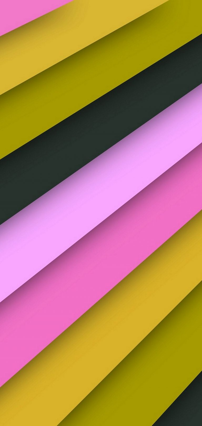 Texture Line Obliquely Pink Black Yellow 1080x2270 768x1614