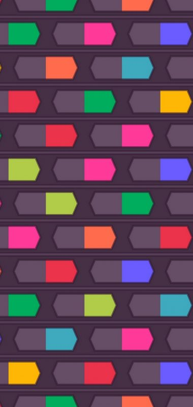 Texture Shapes Lines Background Colorful 1080x2270 380x799