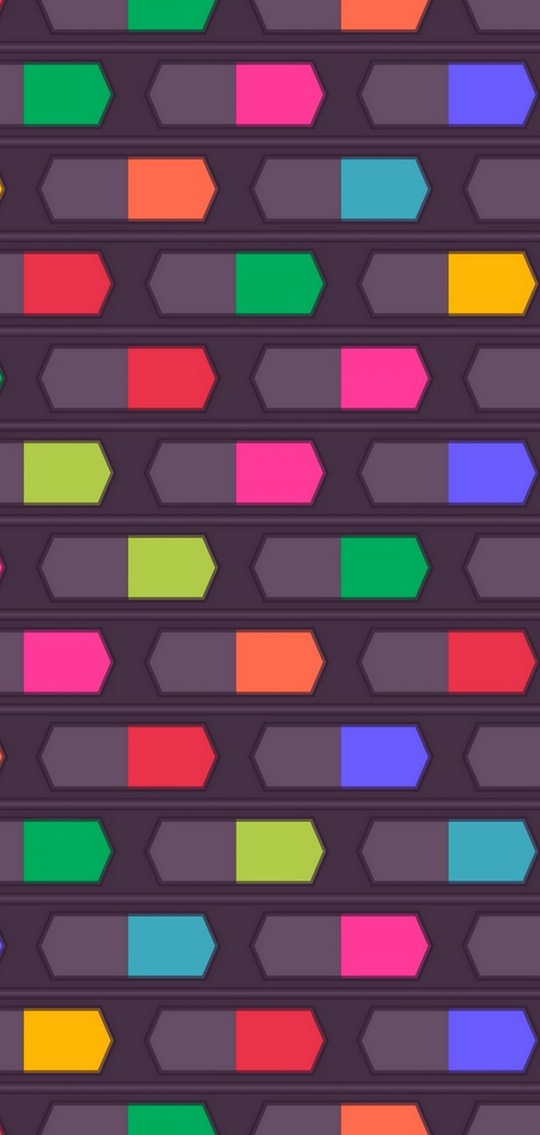 Texture Shapes Lines Background Colorful 1080x2270 768x1614