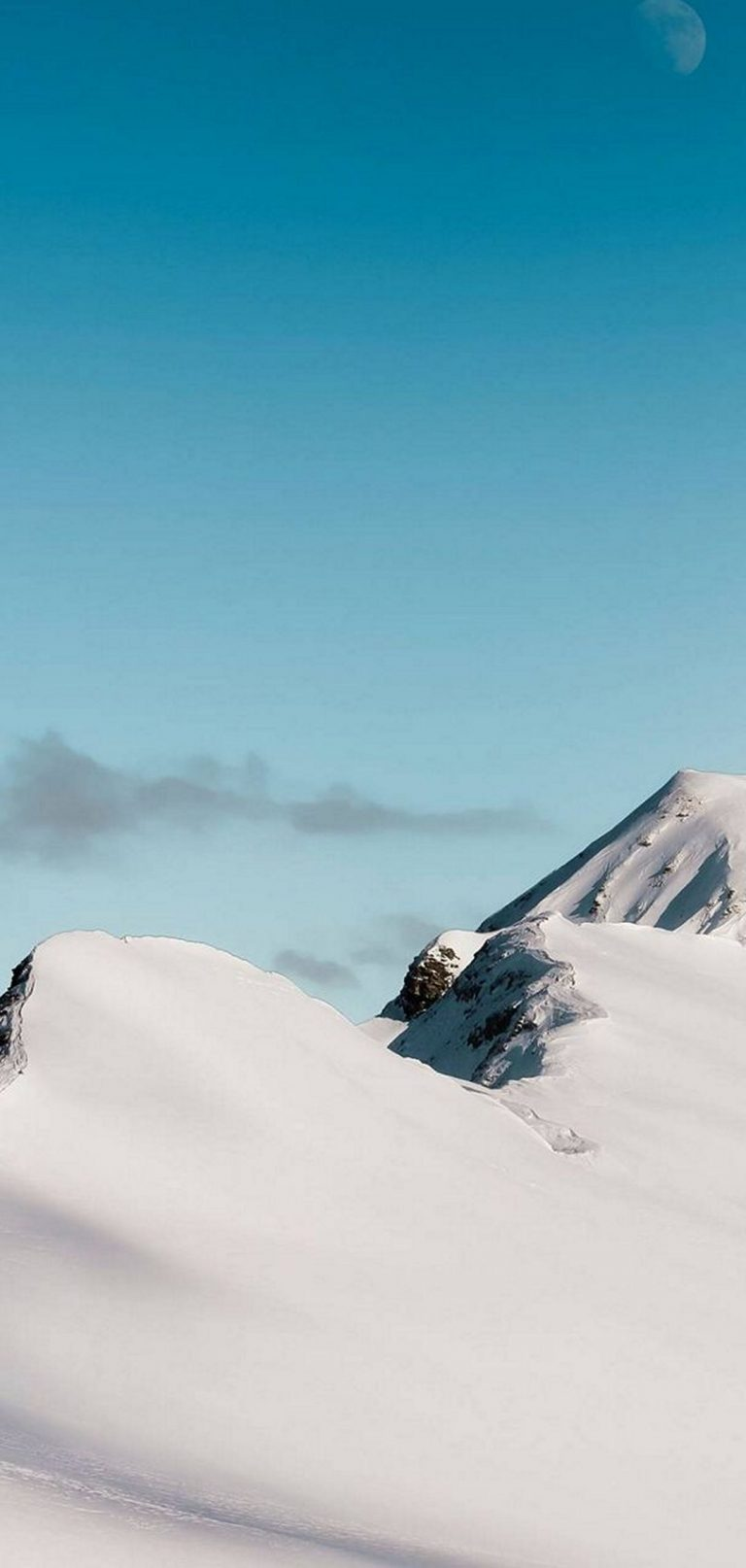 Top Mountain Cloud Minimalism 1080x2270 768x1614