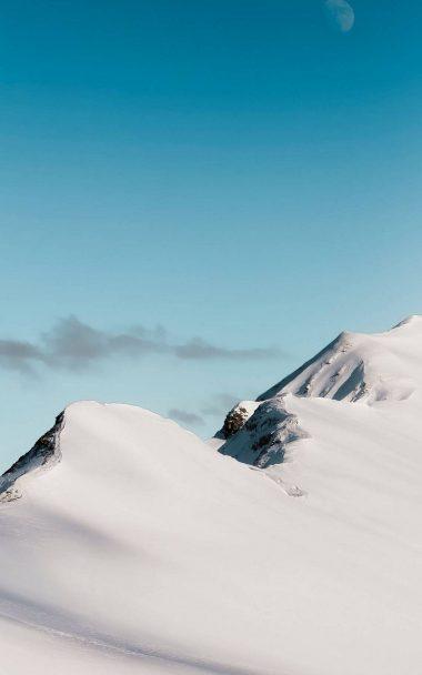 Top Mountain Cloud Minimalism 800x1280 380x608