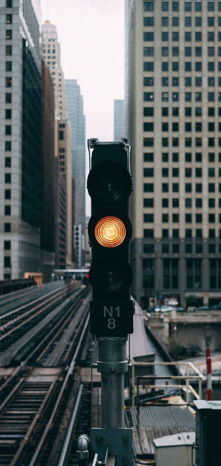 Traffic Lights City Buildings 1080x2270 768x1614