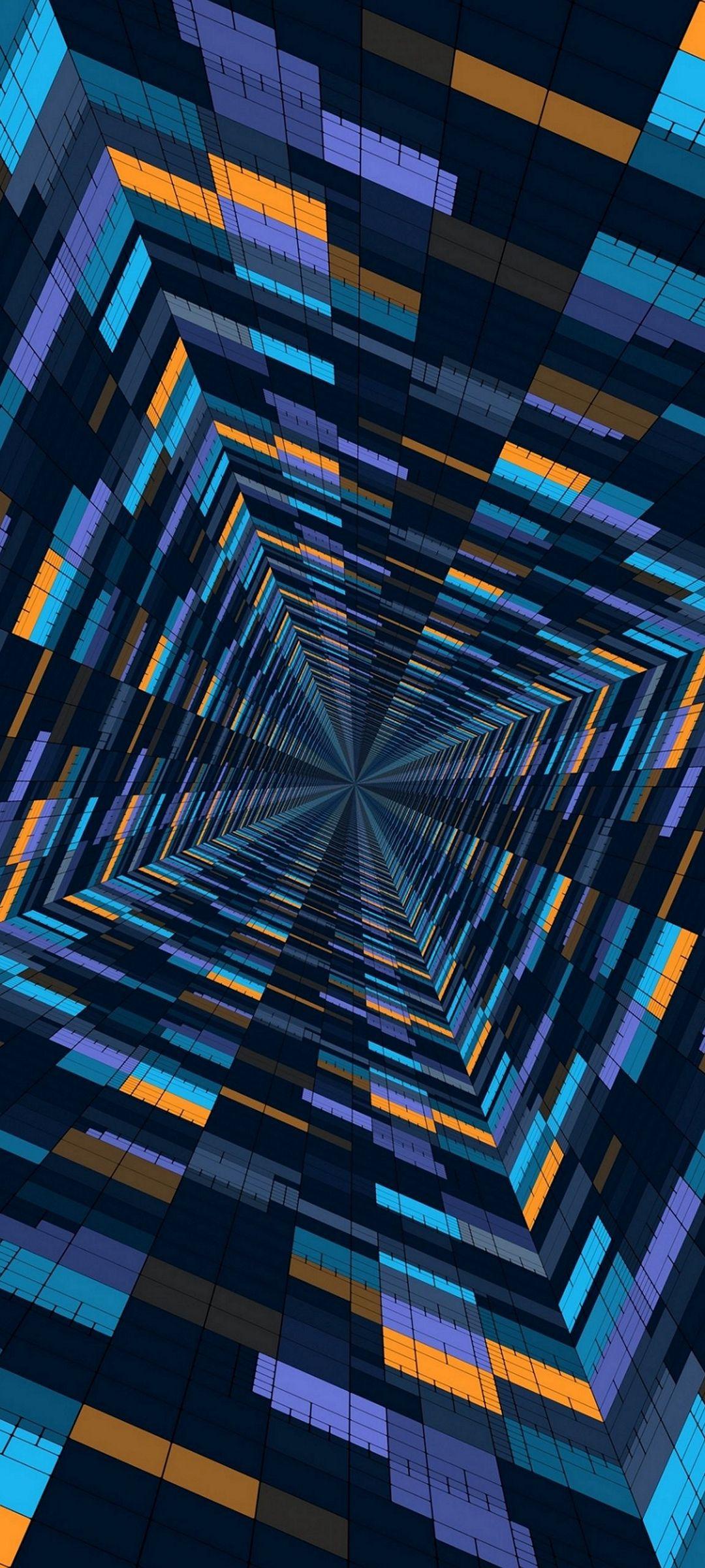 Abstract 3D Blocks