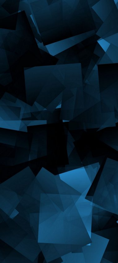 Abstraction Shapes Dark Background 1080x2400 380x844