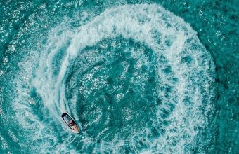 Aerial View Ocean Wallpaper 1440x3040 340x220