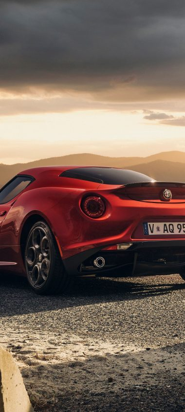 Alfa Romeo 4c Launch Edition Red 1080x2400 380x844