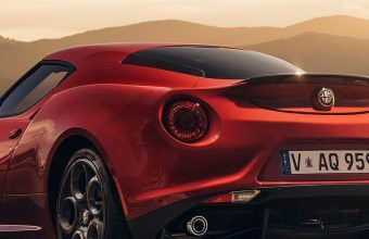 Alfa Romeo 4c Launch Edition Red Wallpaper 1440x3040 340x220
