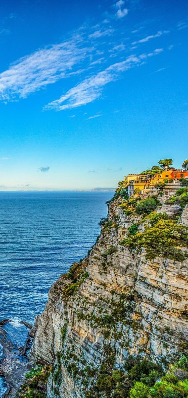 Amalfi Italy Hill Sea Wallpaper 1440x3040 380x802