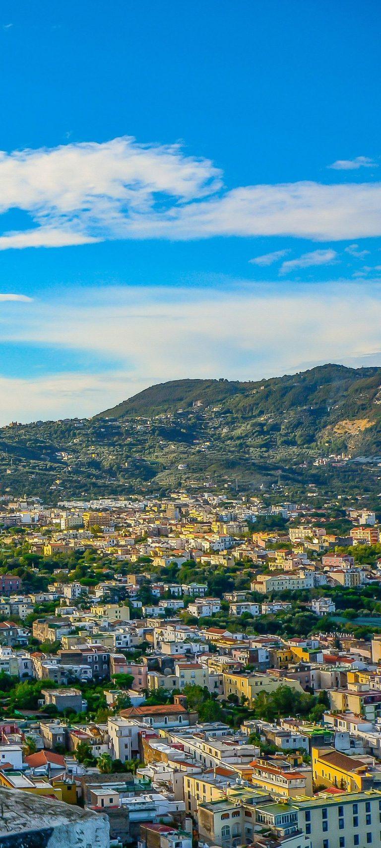 Amalfi Italy Mountains Architecture 1080x2400 768x1707