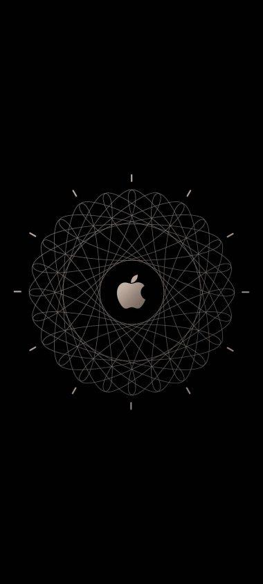 Apple Logo Brown Technology 1080x2400 380x844