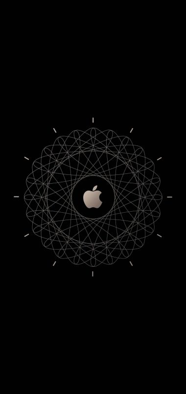 Apple Logo Brown Technology Wallpaper 1440x3040 380x802