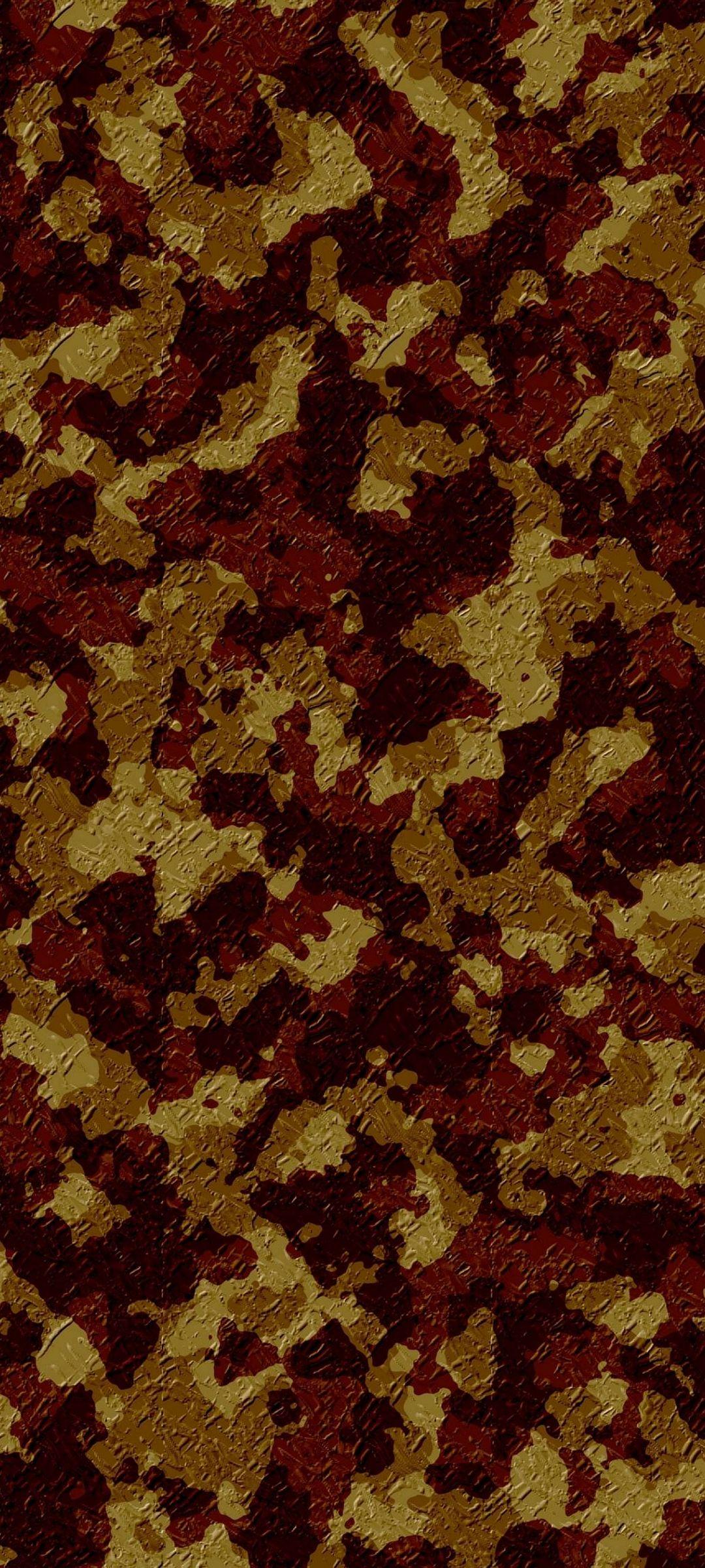 Army Camo Texture Design 1080x2400