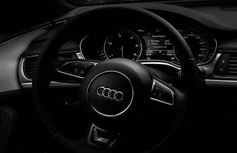 Audi Steering Wheel Wallpaper 1440x3040 340x220