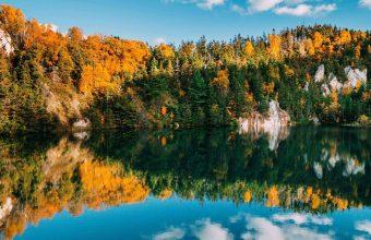 Autumn Lake Trees 1024x600 340x220