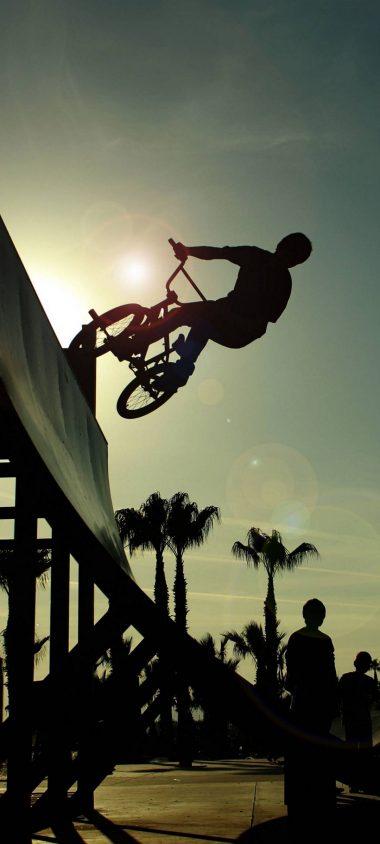 BMX Cycle Jump 1080x2400 380x844