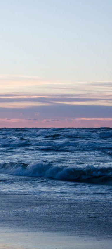 Beach Ocean Sand Horizon 1080x2400 380x844
