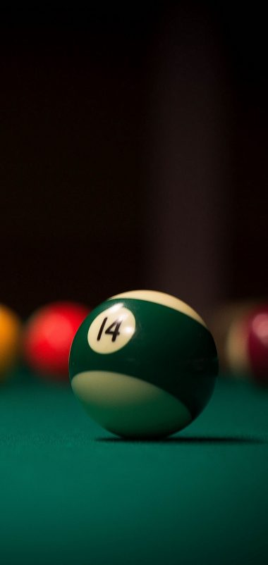 Billiards Ball Cue Wallpaper 1440x3040 380x802