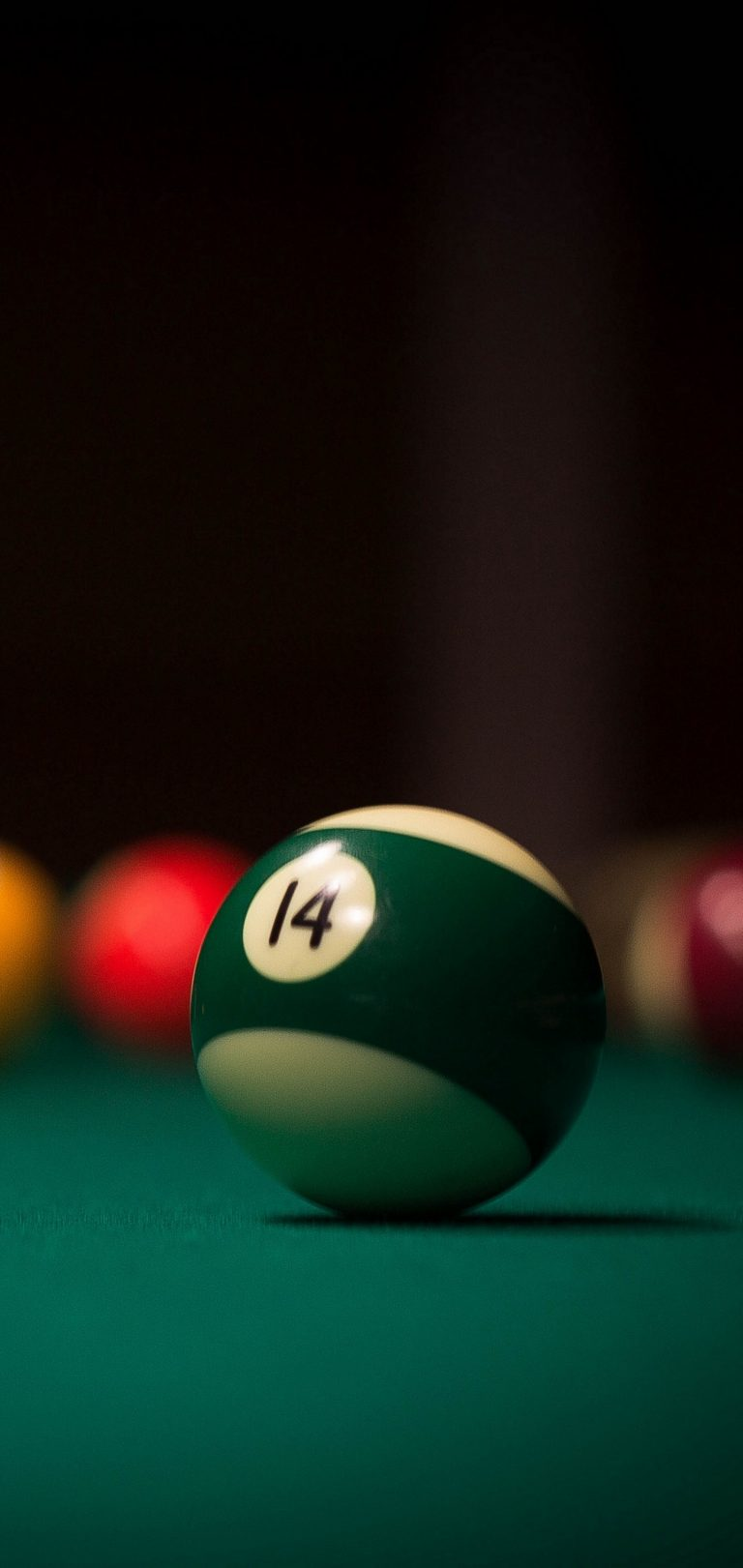 Billiards Ball Cue Wallpaper 1440x3040 768x1621