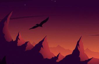 Bird Silhouette Vector 1024x600 340x220