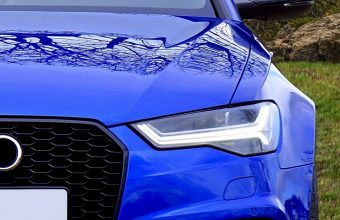 Blue Car Side Wallpaper 1440x3040 340x220