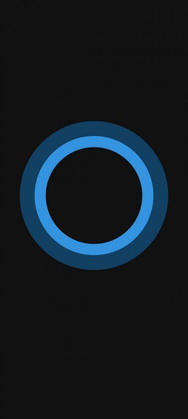 Bluish Circles Minimal 1080x2400 380x844
