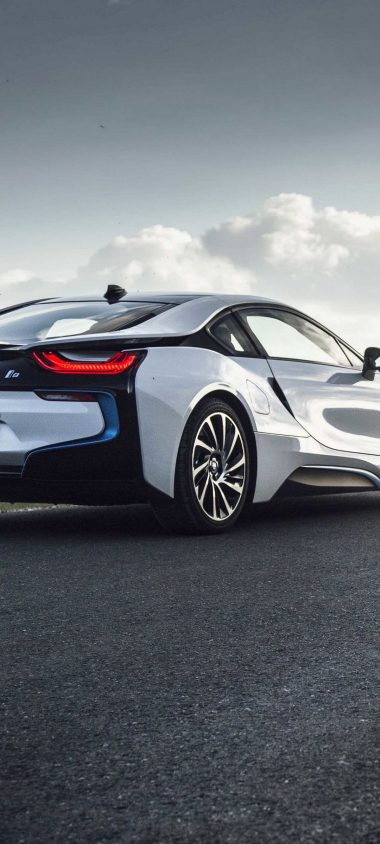 Bmw I8 Rear View Road 1080x2400 380x844