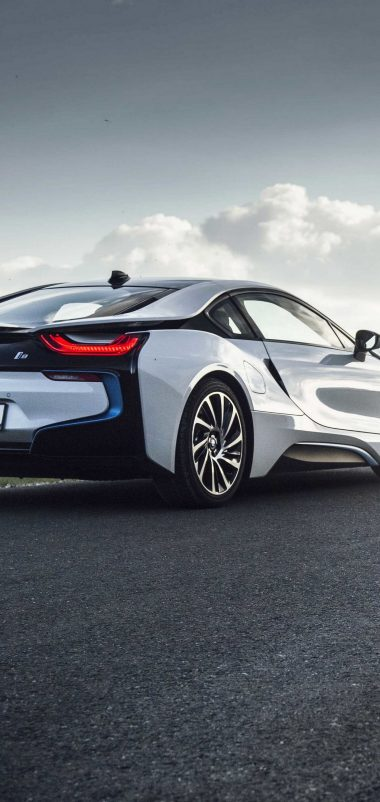 Bmw I8 Rear View Road Wallpaper 1440x3040 380x802