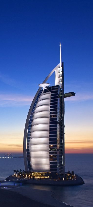 Burj Al Arab Hotel Dubai Uae Sky 1080x2400 380x844