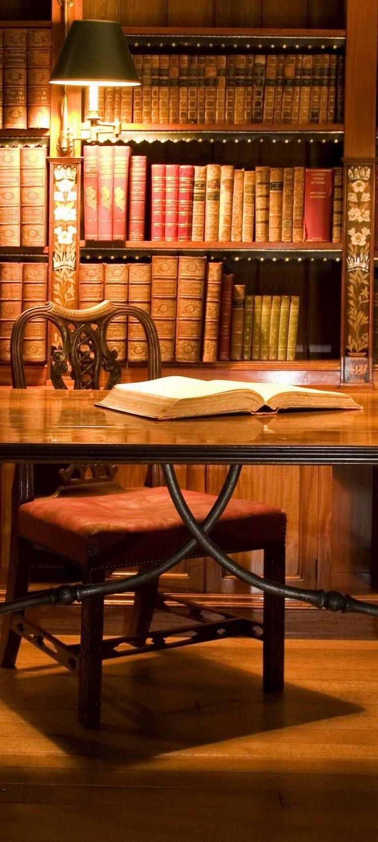 Cabinet Table Book Globe 1080x2400 768x1707