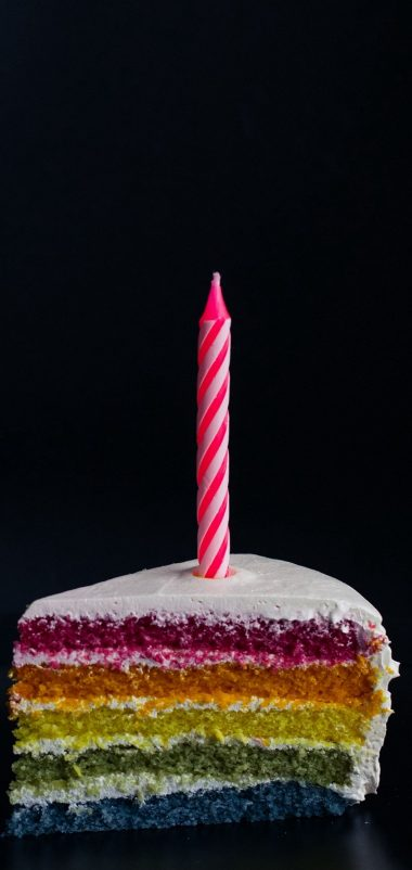 Candle Cake Food Wallpaper 1440x3040 380x802