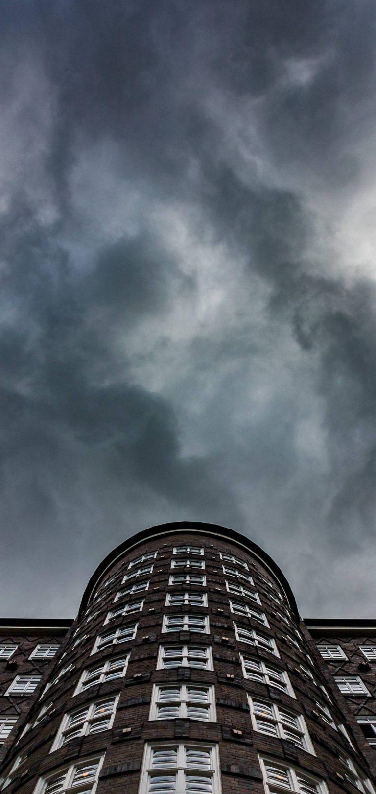 City Building Black Sky Wallpaper 1440x3040 768x1621