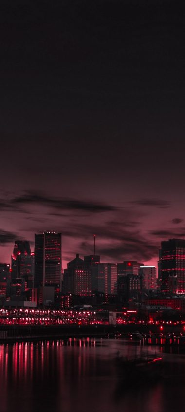 City Night Panorama 1080x2400 380x844