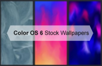 Color OS 6 Stock Wallpapers