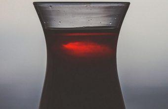 Dark Glass Juice Drink Wallpaper 1440x3040 340x220