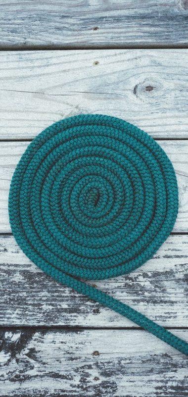 Deck Rope Spiral Wallpaper 1440x3040 380x802