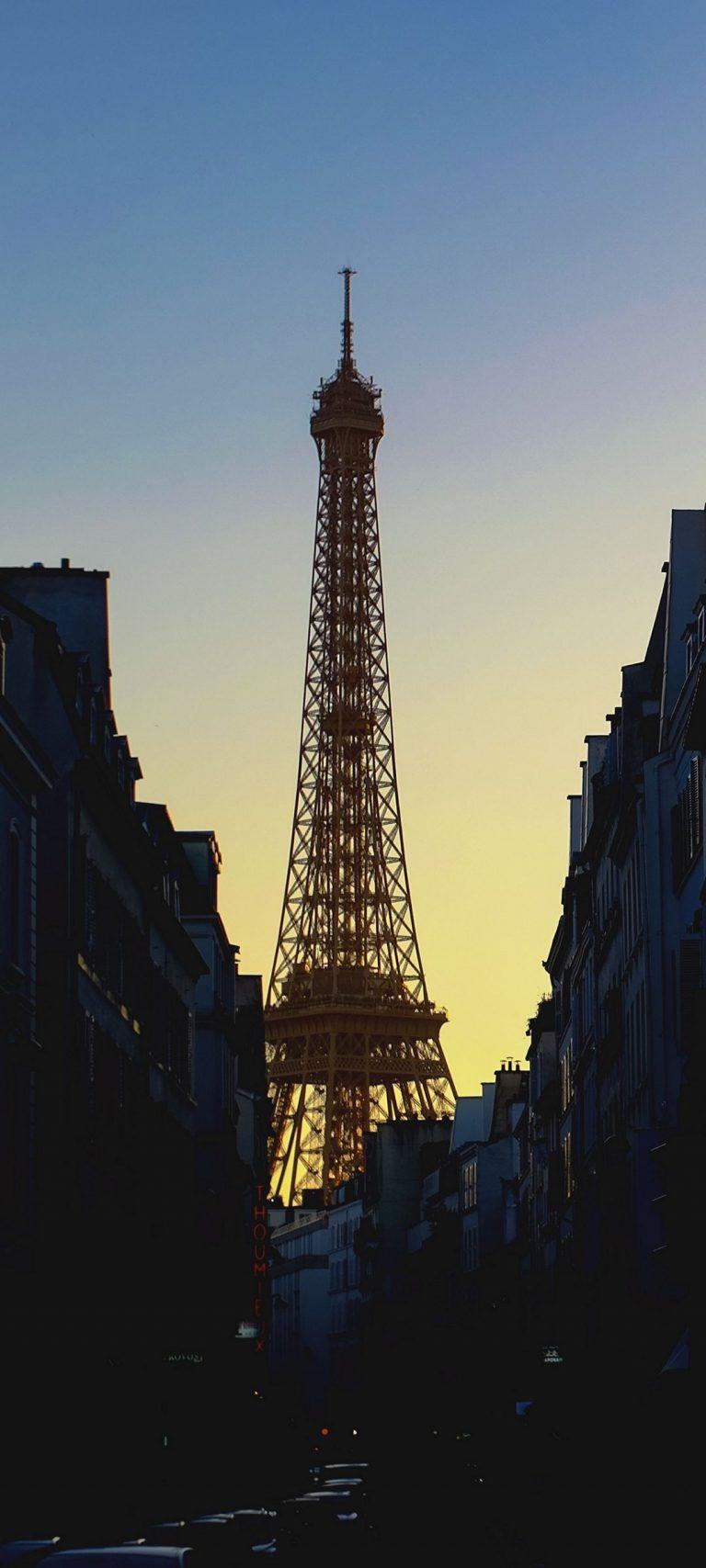Eiffel Tower France Paris 1080x2400 768x1707
