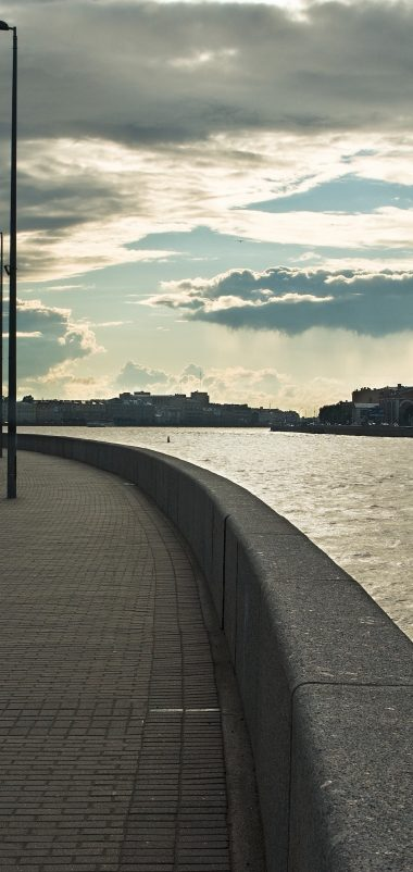 Embankment St Petersburg River Wallpaper 1440x3040 380x802