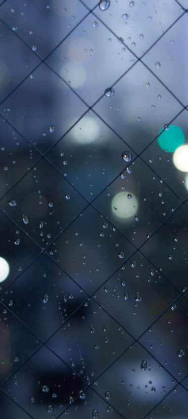 Fence Mesh Drops Texture 1080x2400 380x844