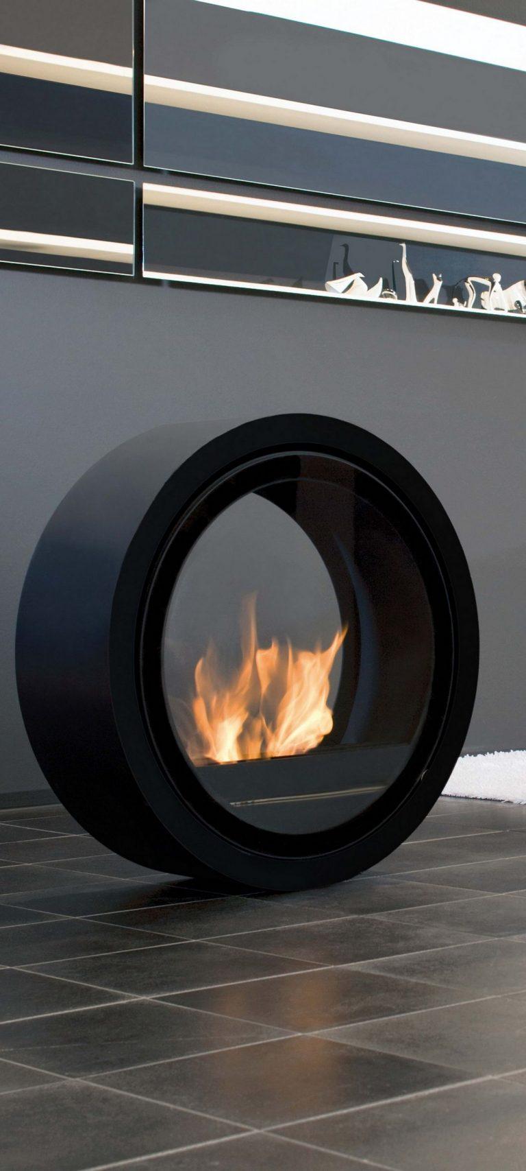 Fireplace Unusual Creative 1080x2400 768x1707