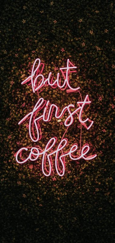 Funny Coffee Lover Wallpaper 1440x3040 380x802