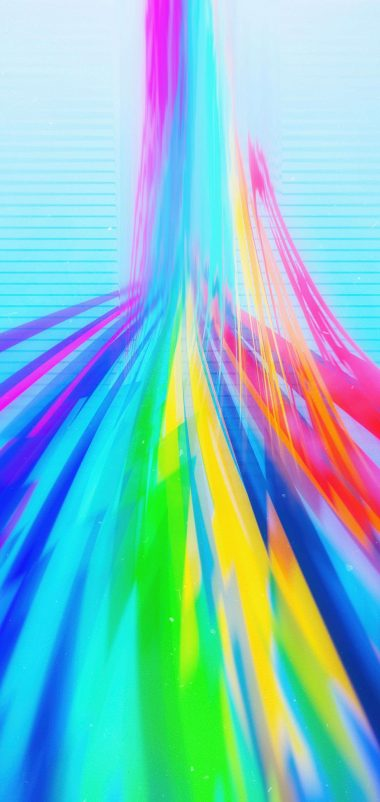 Girly Colored Lines Wallpaper 1440x3040 380x802