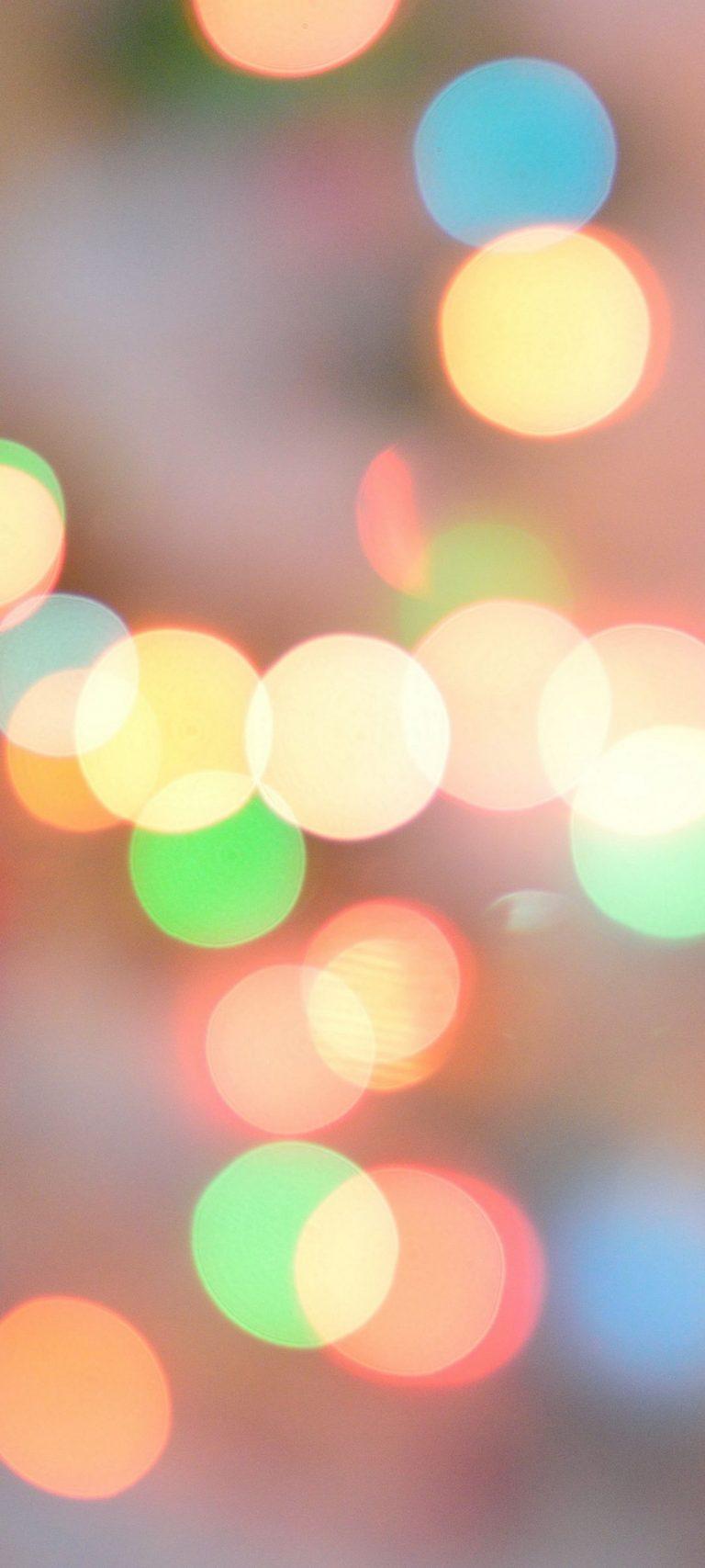 Glare Abstract Circles Shine 1080x2400 768x1707