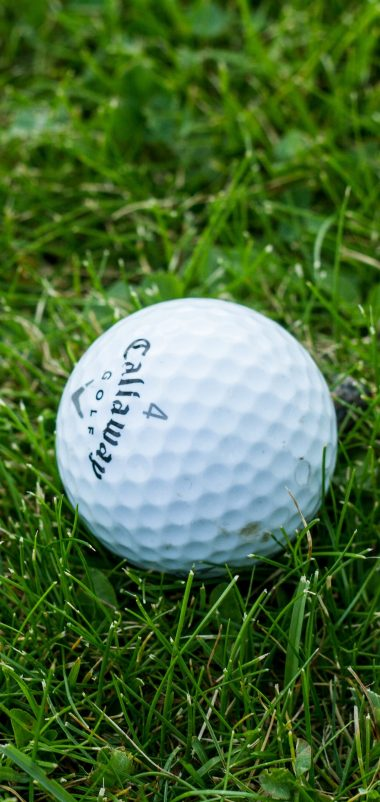 Golf Ball Grass Wallpaper 1440x3040 380x802