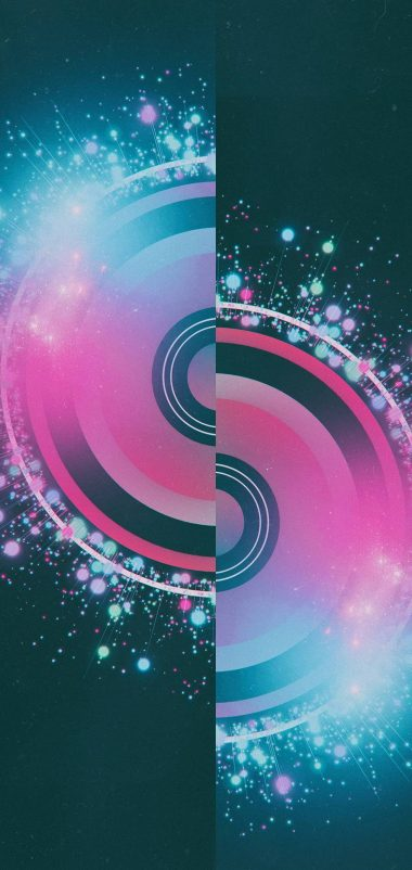 Half Circles Design Abstract Wallpaper 1440x3040 380x802