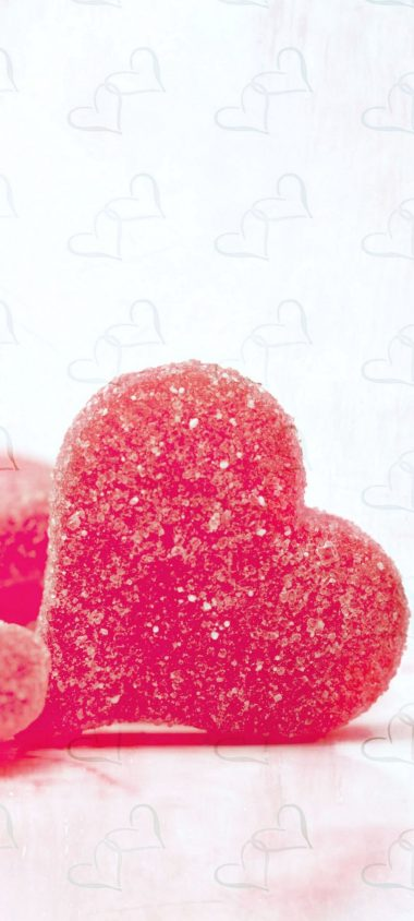 Hearts Candy Sugar 1080x2400 380x844