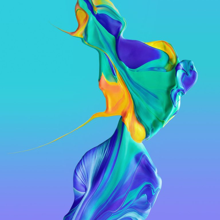 Huawei P30 Pro Stock Wallpaper 01 2340x2340 768x768