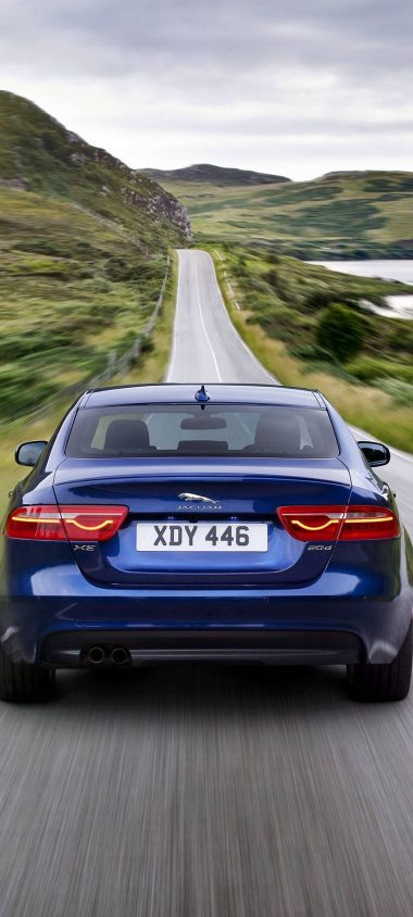 Jaguar XE Car Blur 1080x2400 380x844