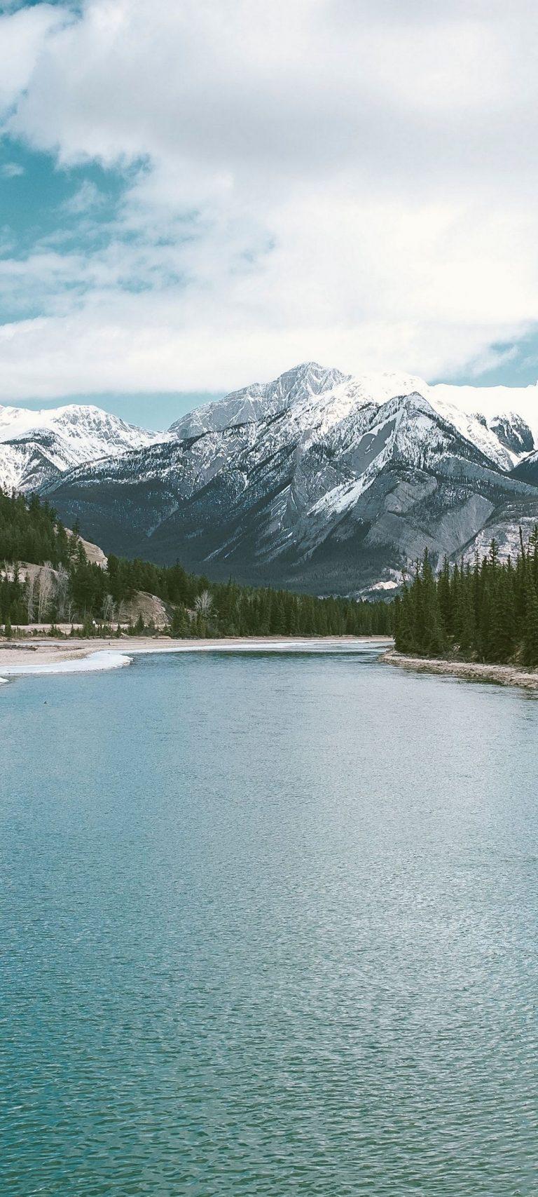 Lake Mountains Landscape 1080x2400 768x1707