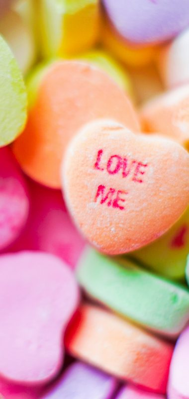 Love Me Candies Wallpaper 1440x3040 380x802