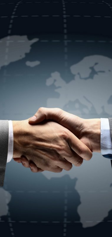 Men Shaking Hands Agreement Wallpaper 1440x3040 380x802